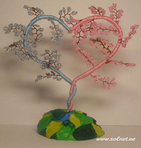 дерево любви из бисера схема - Лучшие схемы и описания для всех.