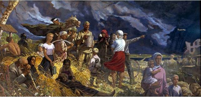 картины ильи глазунова:
