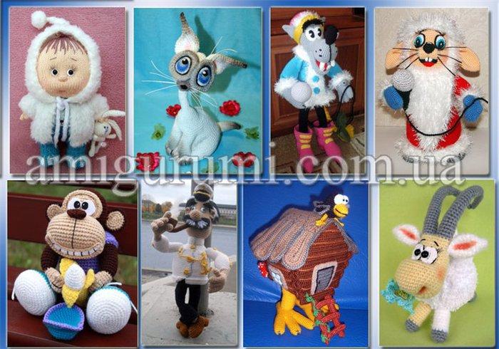 Собачки, мишки, куклы, созданные с помощью крючка или спиц, захватили интернет.  Схемы, описания, мастер-классы...