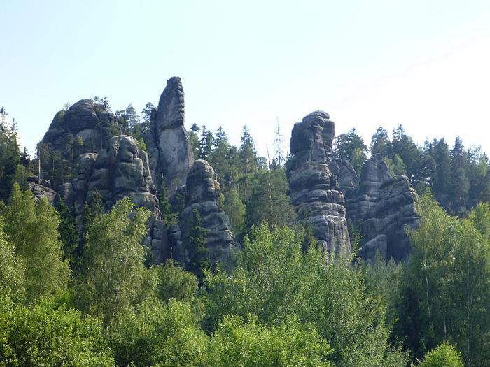 Адершпаско-Теплицкие скалы 76450