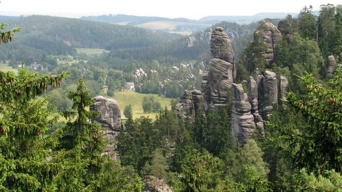 Адершпаско-Теплицкие скалы 92568