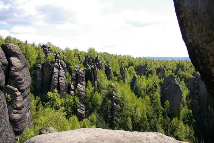 Адершпаско-Теплицкие скалы 97394