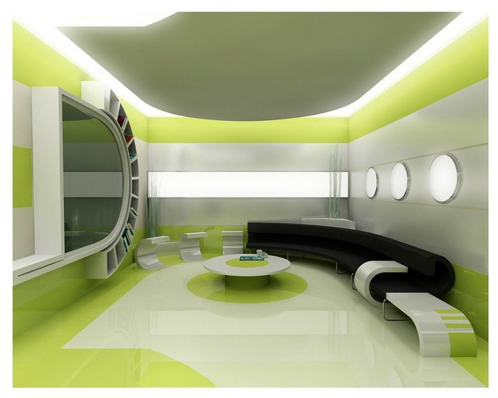 Современный эко дизайн в интерьере