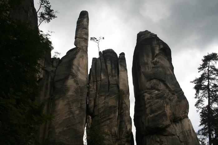 Адершпаско-Теплицкие скалы 92631
