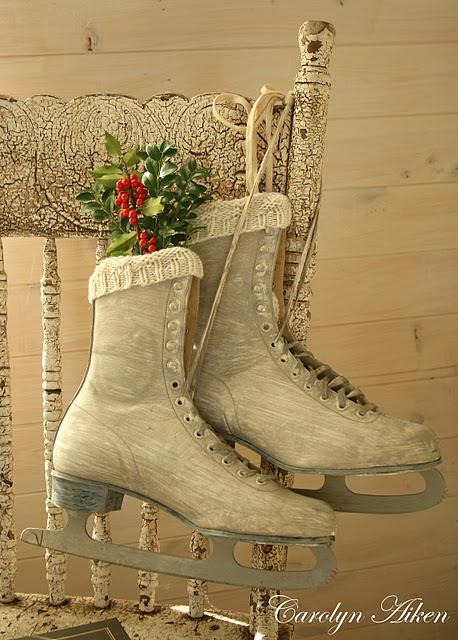 Как украсить фигурные коньки