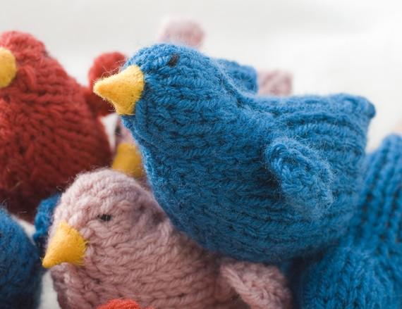 Птички вязанные своими руками