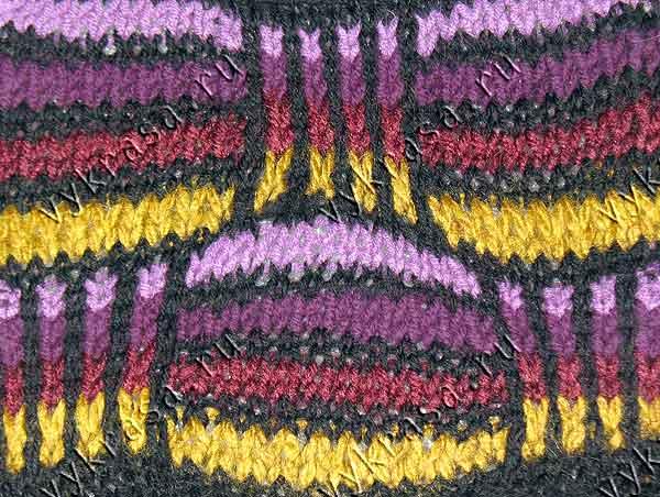 ИЗ вязание на вилке