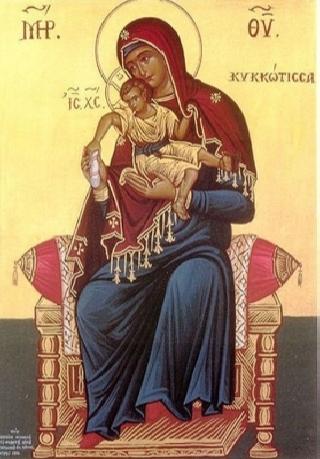 «Милостивая» Киккская икона Божией Матери. 2 (320x459, 117Kb)