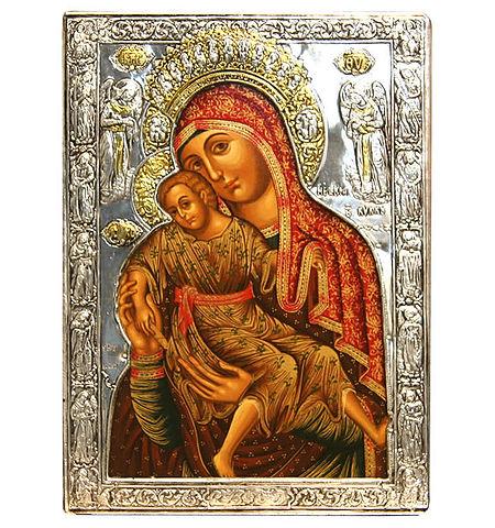 Милостивая икона Божией Матери (450x480, 91Kb)
