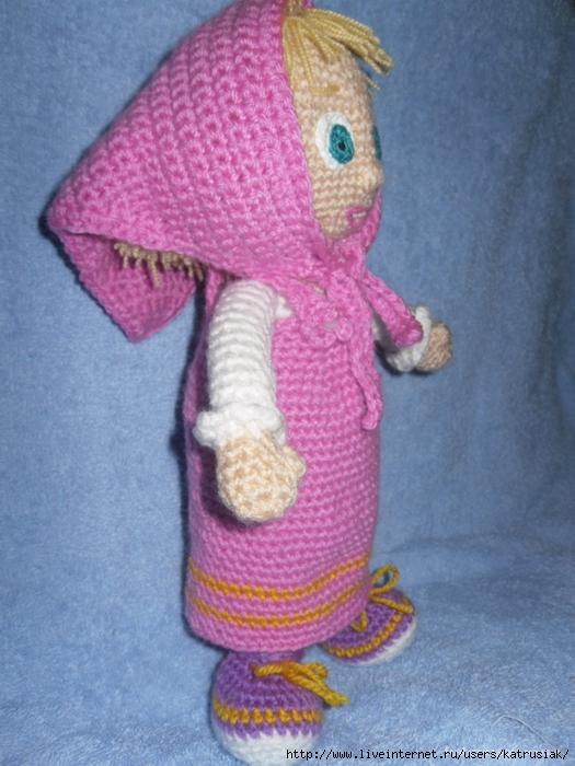 Вязание крючком - Маша из мф