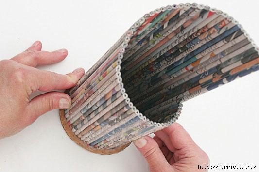 Бумага своими руками из газета