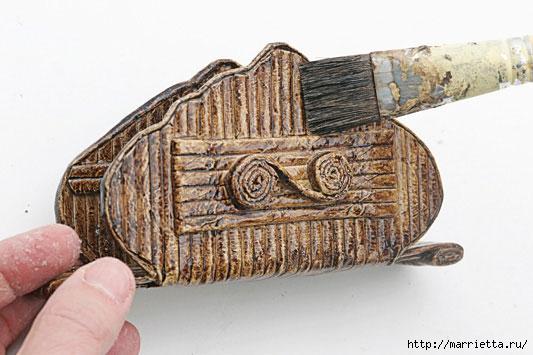 Салфетницы своими руками из газетных трубочек