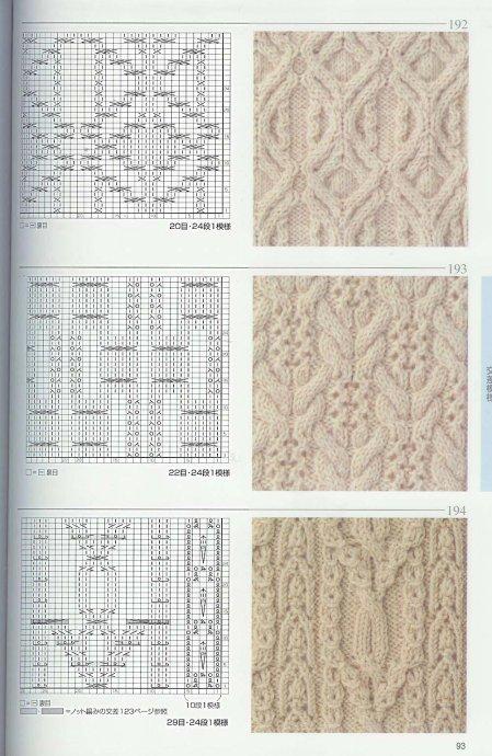 Рисунки для вязания спицами. узор спицами волна спицами схема и описание.
