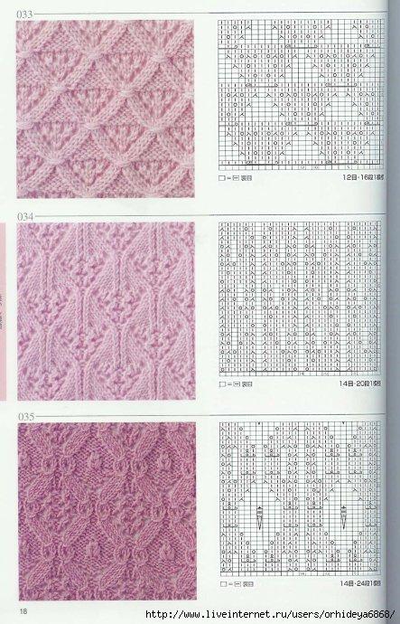 все схемы показывают лицевую сторону. весь японский ажур+усл обозначения.