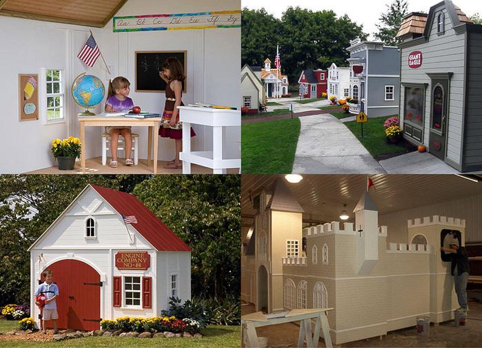 домики для детей фото