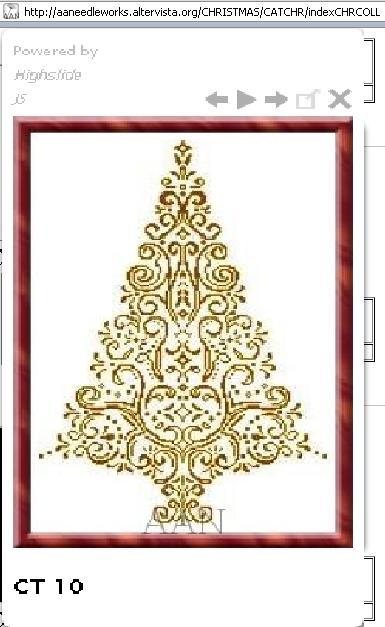 ажурная елка карт (385x627,