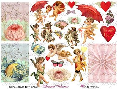 210 w  Whimsical Valentine (400x305, 60Kb)