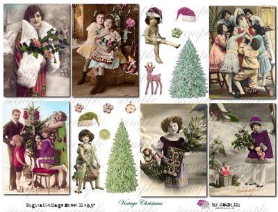 177 w Vintage Christmas (400x305, 39Kb)