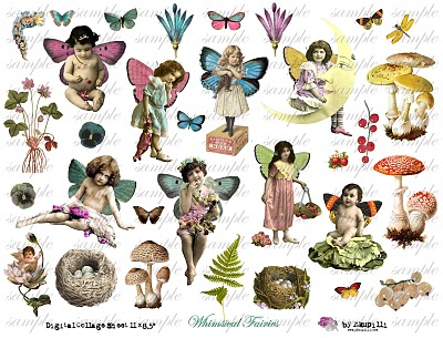 269 w Whimsical Fairies (400x305, 60Kb)