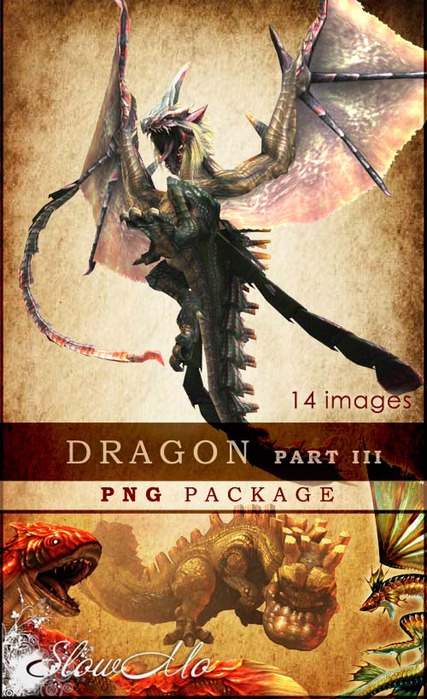 SlowMo, PNG, Png pack, Dragon, Images, Clipart, Драконы, Без фона, Картинки, Клипарты, Фэнтэзи/1322149236_Dragon_part3_Cover (427x700, 122Kb)