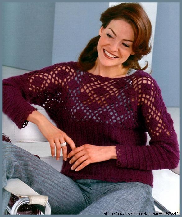 Пуловер с большим воротником, скорее всего, представляет собой весьма интригующую модель, ведь в классическом...