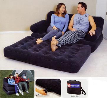 Купить надувной диван трансформер в Московск.обл с доставкой