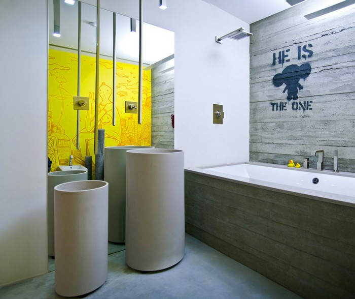 Лофт или модный интерьер квартиры в Киеве