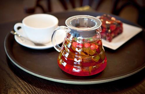 Чай земляничный