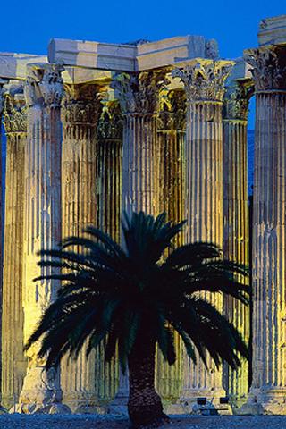 Фото достопримечательностей Греции (320x480, 201Kb)