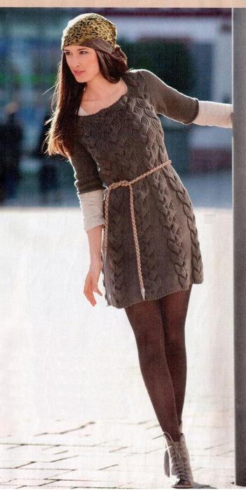 мини-платье с косами (351x700, 79Kb)