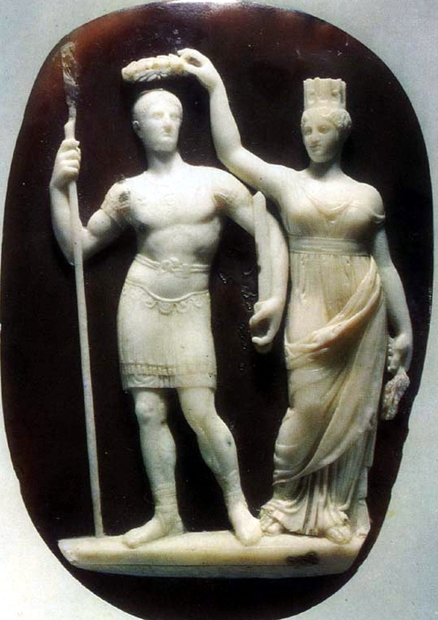 константин в.и богиня Тихе (495x700, 237Kb)