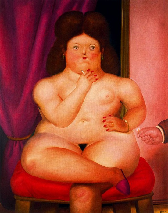Fernando Botero.  8 (551x700, 99Kb)