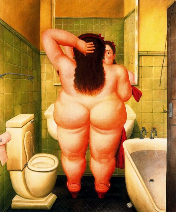 Fernando Botero.  12 (581x700, 91Kb)