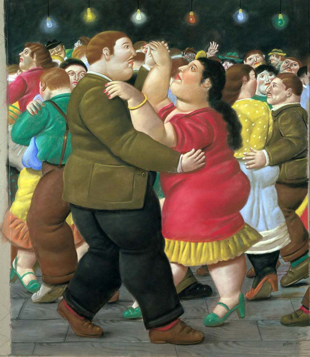 Fernando Botero.  24 (608x700, 451Kb)