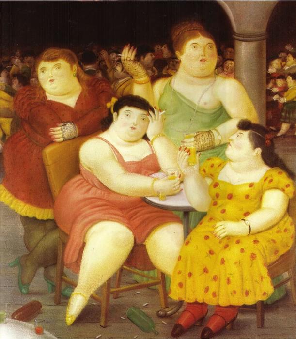 Fernando Botero.  27 (611x700, 501KB)