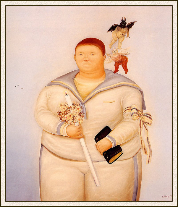 Fernando Botero.  28 (602x700, 449 Kb)