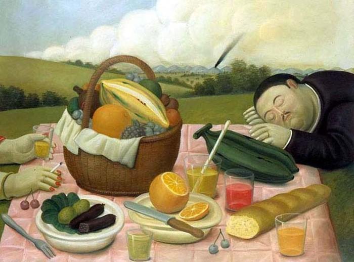 Fernando Botero.  30 (700x518, 92Kb)