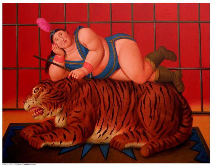 Fernando Botero.  35 (699x547, 54Kb)