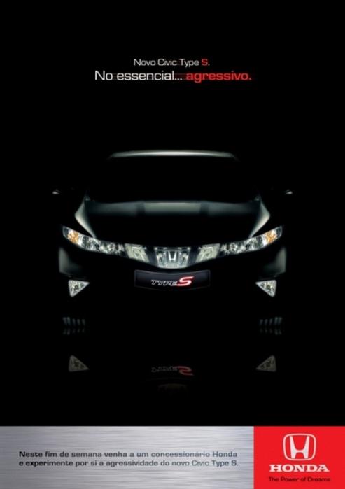 Креатив в рекламе компании Хонда