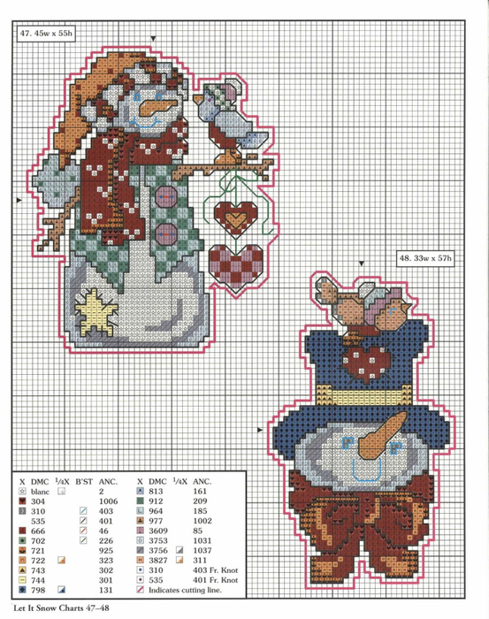 78 xmas ornaments charts 47-48 (553x700, 435Kb)
