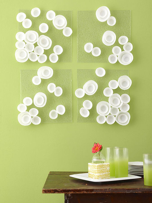 Diy dining room wall art