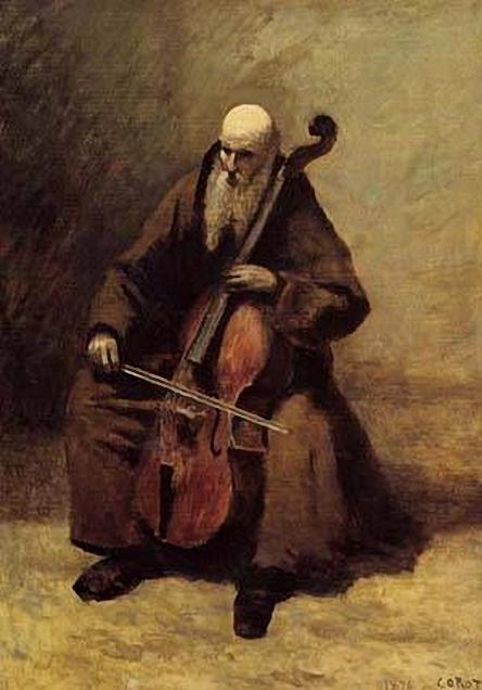 Jean Baptiste Corot.Monk_with_a_Cello__1874 (444x636, 190Kb)