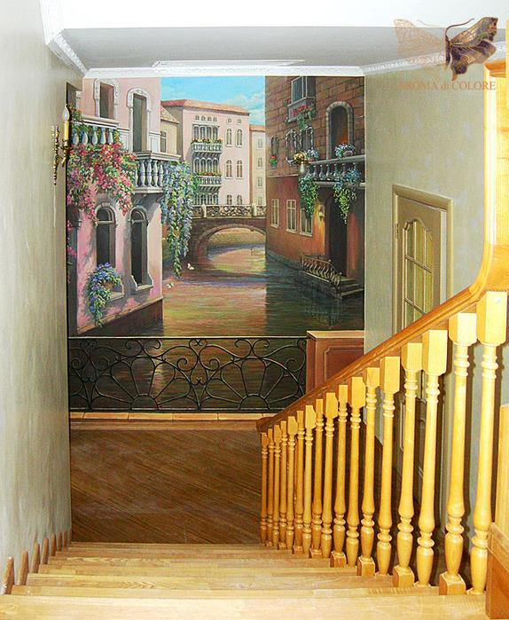 Фотоальбомы - Художественная роспись квартир, стен, интерьеров.