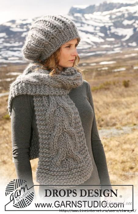 Вязание. шапки, шарфы. 10.