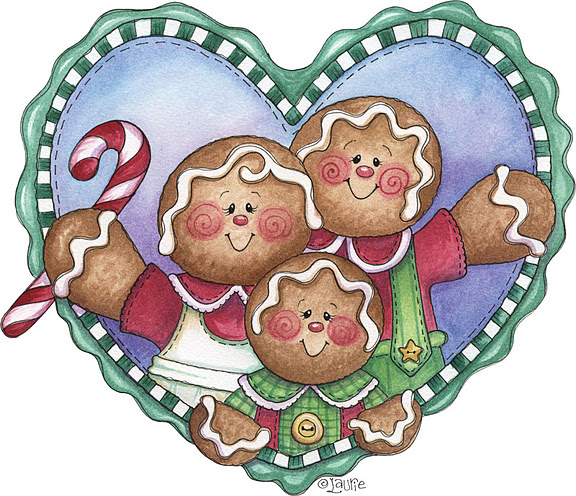 Gingerbread Family (576x496, 139Kb)