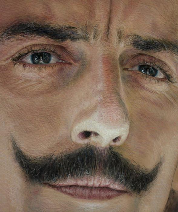 Velazquez. reflection in eyes (588x700, 476Kb)
