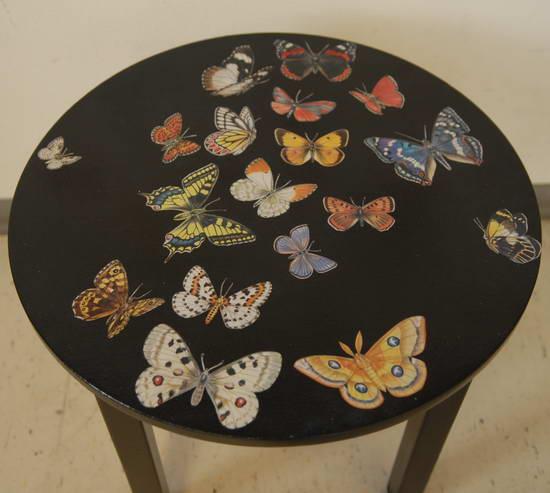 Идеи декупажа стол
