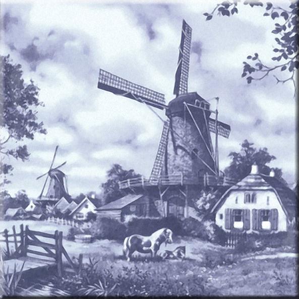 Одним из символов Голландии являются ветряные мельницы.  C давних времён люди селились на плодородных землях вдоль...