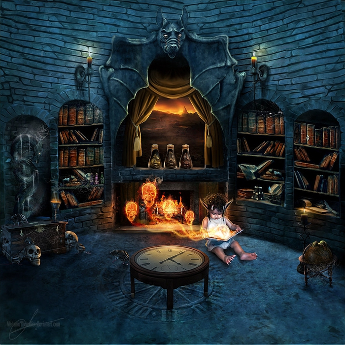 forbidden_library_by_madamethenadier-d32tj3c (700x700, 423Kb)