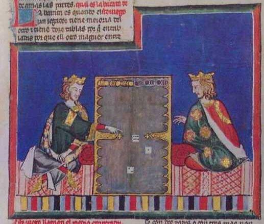 «Книга игр» короля Альфонса Х (1240 г.), Испания (517x439, 51Kb)